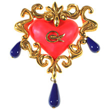 Buy Alice Joseph Vintage 1990s Christian Lacroix Ornate Booch, Multi Online at johnlewis.com
