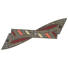 Buy Alice Joseph Vintage 1960s Pierrre Bex Deco Bow Brooch, Multi Online at johnlewis.com