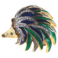 Buy Alice Joseph Vintage Attwood & Sawyer Hedgehog Brooch, Gold Online at johnlewis.com