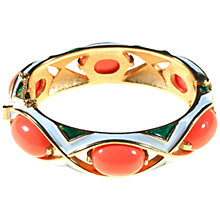 Buy Alice Joseph Vintage 1968 Trifari L'Orient Bangle, Coral Online at johnlewis.com