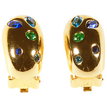 Buy Alice Joseph Vintage 1980s Grosse Earrings, Gold Online at johnlewis.com