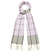 Buy Viyella Checked Cashmink Scarf Online at johnlewis.com