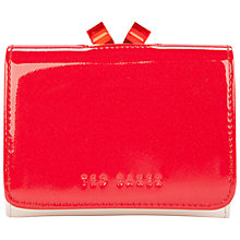 Buy Ted Baker Beeli Leather Crystal Crosshatch Small Purse Online at johnlewis.com