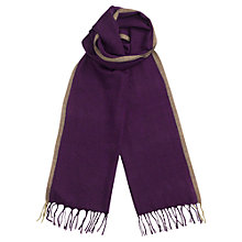 Buy Jigsaw Tonal Check Wool Scarf Online at johnlewis.com