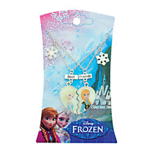 Buy Frozen Best Friends Necklace Online at johnlewis.com