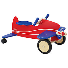 Buy Pintoy Sit 'n' Ride Aeroplane Online at johnlewis.com