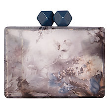 Buy Coast Winter Floral Sparkle Clutch Bag, Multi Online at johnlewis.com