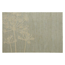 Buy John Lewis Allium Placemat, Teal Online at johnlewis.com