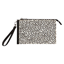 Buy Coast Aluna Wrist Clutch Bag, Mono Online at johnlewis.com