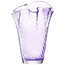Buy LSA International Chiffon Vase, H25cm Online at johnlewis.com