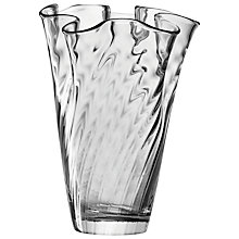 Buy LSA International Chiffon Vase, 35cm Online at johnlewis.com