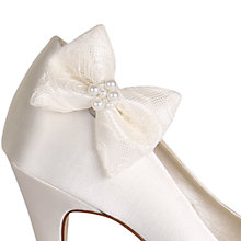 Buy Rainbow Club Carina Shoe Clips, Ivory Online at johnlewis.com
