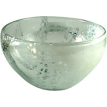 Buy Svaja Glacier Glass Bowl Online at johnlewis.com