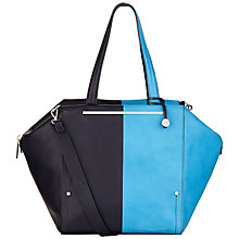 Buy Fiorelli Asher Large Tote Bag, Blue Online at johnlewis.com