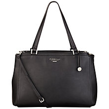 Buy Fiorelli Sophia Large Shoulder Bag, Black Online at johnlewis.com