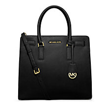 Buy MICHAEL Michael Kors Dillon Large Leather Tote Bag Online at johnlewis.com