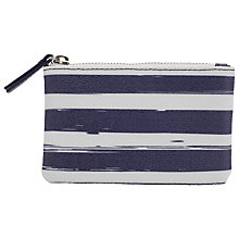 Buy John Lewis Broken Stripe Coin Purse, Blue Online at johnlewis.com