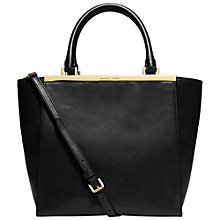 Buy MICHAEL Michael Kors Lana Medium Tote Bag, Black Online at johnlewis.com