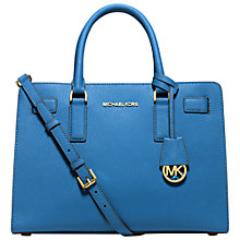 Buy Michael Kors Dillon Leather Satchel Bag Online at johnlewis.com