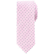 Buy John Lewis Mini Foulard Pattern Silk & Linen Tie Online at johnlewis.com