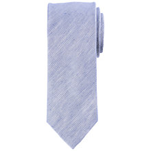 Buy John Lewis Plain Silk & Linen Tie Online at johnlewis.com