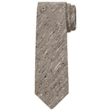 Buy JOHN LEWIS & Co. Slub Silk Tie Online at johnlewis.com