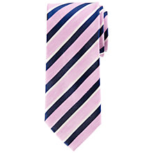 Buy John Lewis Stripe Silk & Linen Tie Online at johnlewis.com