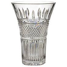 Buy Waterford Irish Lace Vase, H25cm Online at johnlewis.com
