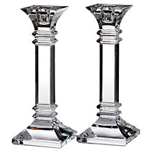 Buy Waterford Marquis Treviso Candle Holders Online at johnlewis.com