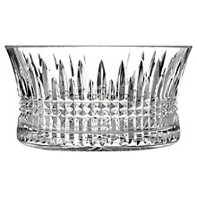 Buy Waterford Lismore Diamond Bowl, H20cm Online at johnlewis.com