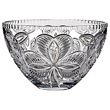 Buy Waterford Shamrock Bowl, Dia.25cm Online at johnlewis.com