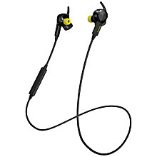 Buy Jabra Sport Pulse Wireless In-Ear Headphones, Black & yellow Online at johnlewis.com