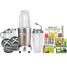 Buy NutriBullet 15 Piece Pro 900 Series + Life Changing Recipes Book with Supergreens Powder Online at johnlewis.com