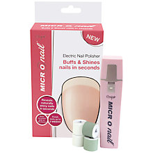 Buy MICRO Nail Electric Nail Polisher Online at johnlewis.com
