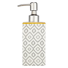 Buy John Lewis Medina Soap Dispenser Online at johnlewis.com