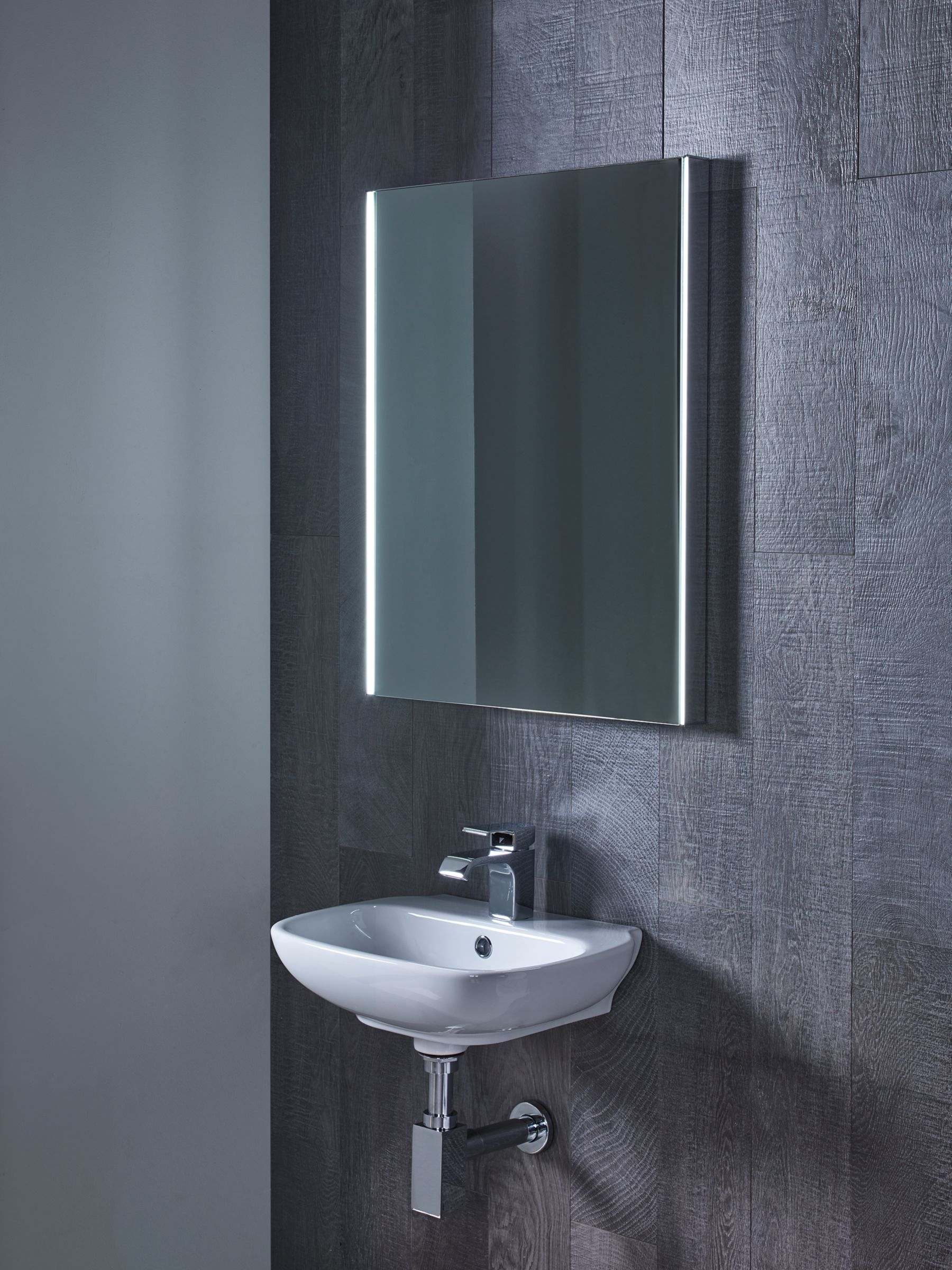 Roper Rhodes Roper Rhodes Precise Illuminated Bathroom Mirror
