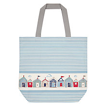 Buy John Lewis Beach Huts Beach Bag Online at johnlewis.com