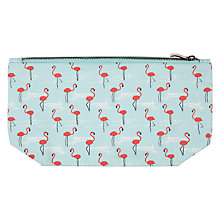 Buy John Lewis Flamingo Wash Bag Online at johnlewis.com