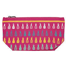 Buy John Lewis Pineapples Wash Bag Online at johnlewis.com