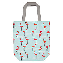 Buy John Lewis Flamingo Beach Bag, Multi Online at johnlewis.com