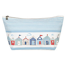 Buy John Lewis Beach Hut Wash Bag Online at johnlewis.com