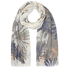 Buy Lola Rose Wild Flower Garden Scarf, Navy Online at johnlewis.com
