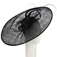 Buy John Lewis Pip Sinamay Disc Bow Side Up Occasion Hat Online at johnlewis.com