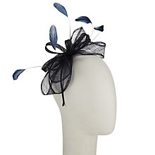 Buy John Lewis Lila Sinamay Loops Fascinator Online at johnlewis.com