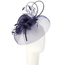 Buy Whiteley Crinoline Diamante Occasion Hat, Navy Online at johnlewis.com