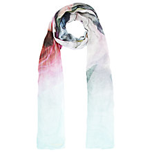 Buy Ted Baker Pure Peony Scarf, Pink Online at johnlewis.com