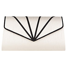 Buy Jacques Vert Overlay Clutch, Blonde Online at johnlewis.com