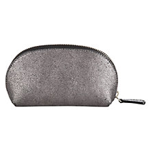Buy Jigsaw Small Crescent Zip Leather Pouch Online at johnlewis.com