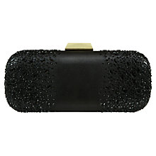 Buy Jacques Vert Beaded Clutch, Black Online at johnlewis.com