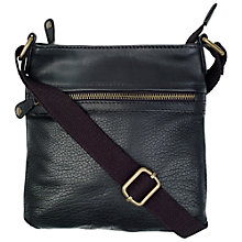 Buy Fat Face Jacquard Leather Across Body Bag Online at johnlewis.com